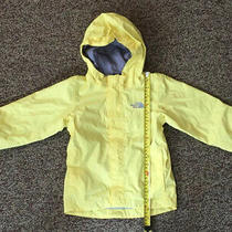 The North Face Toddler Dryvent  Windbreaker Rain Jacket  Pale Yellow 3t Euc Photo