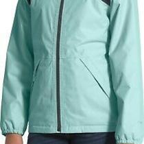 The North Face Warm Storm Waterproof Hoodie Jacket Girl's Xl (18) Blue Nwt 99 Photo