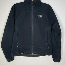 The North Face Windwall Rugged Black Fleece Jacket Coat Womens Size Xs Photo