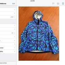The North Face Women Bella Bolt Blue Flutter Print Jacket Brand New W/tags Photo