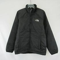 The North Face Women's Black Jacket Full Zip Size M E452 Photo