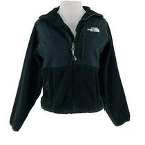 The North Face Women's Black Long Sleeve Zip-Up Fleece Jacket Size Xs Photo