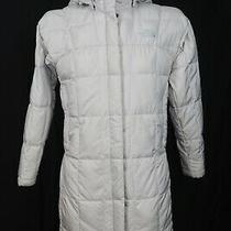 The North Face Women's Metropolis Goose Down 600 Fill Hooded Parka Jacket Sz S Photo