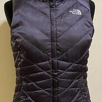 The North Face Women's Purple Vest 550 Goose Down Puffer Vest Size Xs Photo