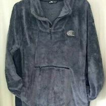 The North Face Women's Sz Xxl Gray Fleece Jacket Pullover Xx Large  Photo