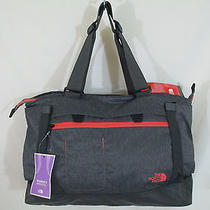 The North Face Women's Tannen Action Sports Tote in Graphite Heather Nwt  Photo