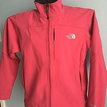 The North Face Womens Apex Bionic Jacket Softshell Coat Szl Coral Pink Photo