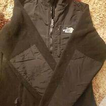The North Face Womens Denali Polartec Full Zip Up Black Fleece Jacket Size Xs Photo