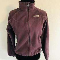 The North Face Womens Windwall Softshell Jacket Full Zip Up Purple Size Xs Coat Photo