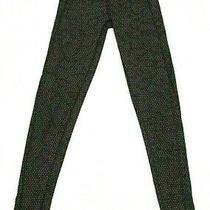 The North Face Xs Black & Gray Dot Flash Dri Stretch Knit Athletic Leggings Photo
