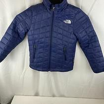 The North Face Youth Thermoball Jacket Blue Size Xs Photo