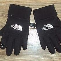 The North Face Youth Unisex E-Tip Tech Gloves Tnf Black Size S Photo
