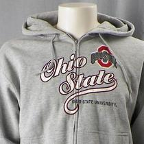 The Ohio State University Medium Hoodie Hooded Sweatshirt College Buckeyes Nwt  Photo