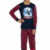 The Polar Express Train Kids Tight Fit Long Sleeve Cotton Pajamas 4 Photo