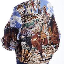 The Pony Express Hermes Padded Reversible Coat Size 50 Scarf Birkin Kelly Photo