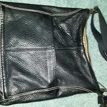 The Sac Black Leather Shoulder Bag Photo