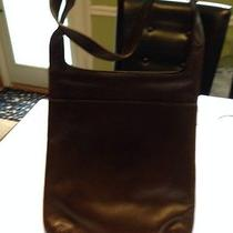 The Sac Cross Bodybag Satchel Shoulder Bag Brown Leather Photo