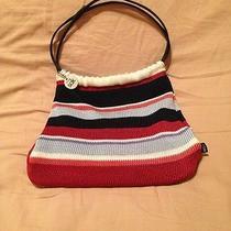 The Sac Knit Stripe Handbag Photo