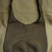The Sac Taupe Crochet Classic Original Hobo Shoulderbag / Cross-Body Photo