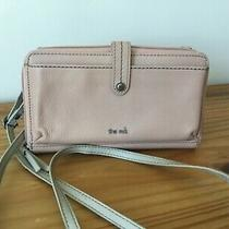 The Sak 3-in-1 Leather Phone Wallet Crossbody Blush Pink  Photo