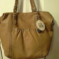 The Sak All Sonora Leather Convertible Shopper in Cognac Photo