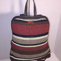 The Sak Backpack Crochet Stripe Photo