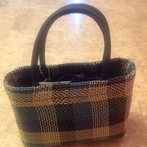 The Sak  Basket Tote Blue Photo