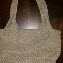 The Sak Beige Crocheted Bag Photo