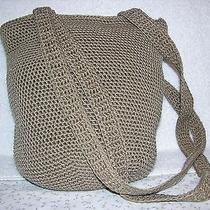 The Sak Beige Tan Shoulder Handbag Photo