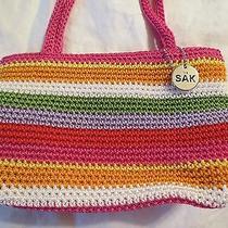 The Sak Bight Stripedmulti-Color Purse Handbag Small Size Photo