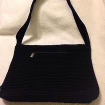 The Sak  Black Crochet Bag Photo