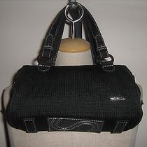 The Sak Black Crochet Handbag Photo