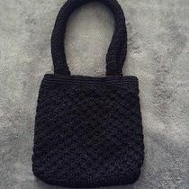 The Sak Black Crochet Handbag Photo