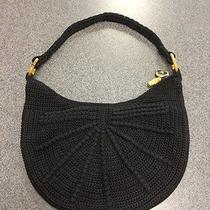 The Sak Black Crochet Purse Photo