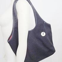 The Sak Black Crochet Shoulder Bag Handbag Purse Photo