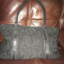 The Sak Black Crochet Shoulderbag Photo