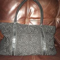 The Sak Black Crochet Shoulderbag Photo
