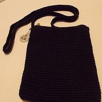 The Sak Black Crossbody Bag Handbag Purse Photo