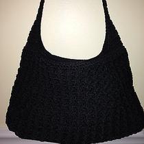 The Sak Black Knit Purse Photo