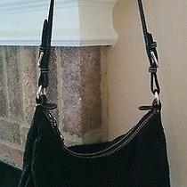 The Sak Black Knit Style Black Handbag Photo