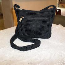 The Sak Black Knitted Purse Photo