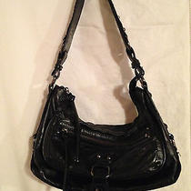 The Sak Black Leather Handbag Photo