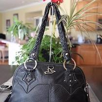 The Sak Black Pebbled Black Leather Shoulder Bag Photo