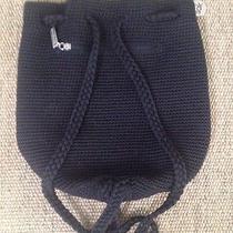 The Sak Black Shoulder Bag Backpack Purse Exc Photo