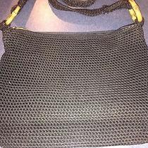 The Sak Black Shoulder Bag Crossbody Purse Euc Photo