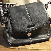 The Sak Black Shoulder Bag Purse Photo