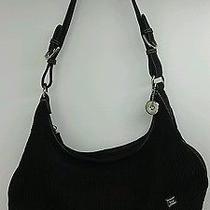 The Sak Black Shoulder Handbag.  Photo