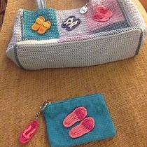 The Sak Blue Crochet Photo