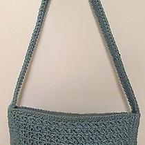 The Sak Blue Crochet Shoulder Bag  Photo