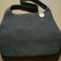 The Sak Blue Crocheted Purse Photo